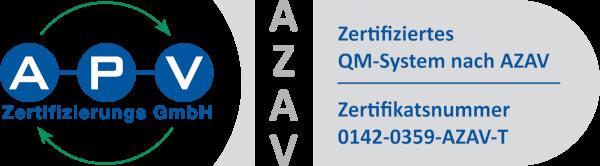 APV Zertifikat Logo
